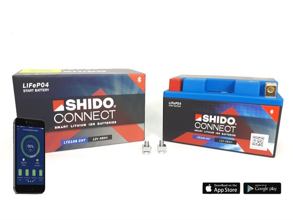 Shido Connect Smart Lithium Ionen Batterie LTZ10S CNT