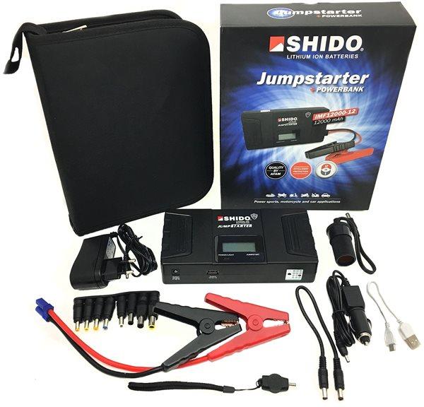 Shido Jumpstarter IMF12000-12 36Wh 600A Starthilfe Booster Powerbank Auto KFZ