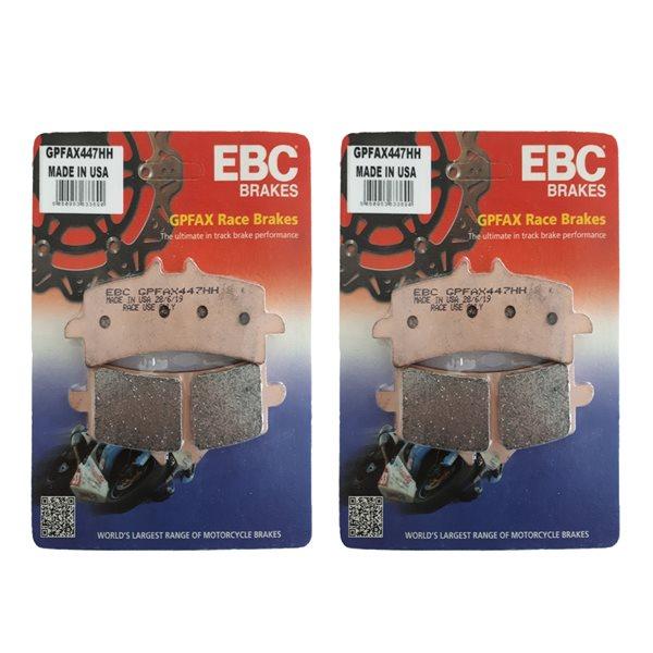 2X EBC Sintered Race Bremsbeläge GPFAX447HH