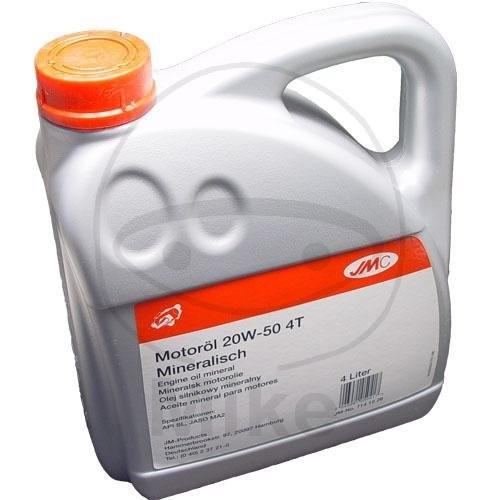 20W-50 JMC 4-Takt Motoröl mineralisch 4Liter