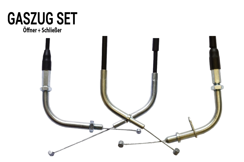 Gaszug Set /Öffner Schlie/ßer f/ür Kawasaki