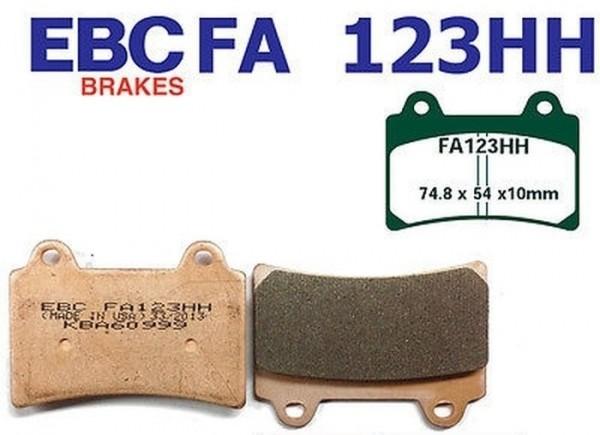 EBC Goldstuff Sintermetall Bremsbeläge FA123HH