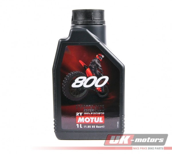 "MOTUL Motoröl 2T ""800 Factory Line Off Road"" synthetisch 1 Liter"