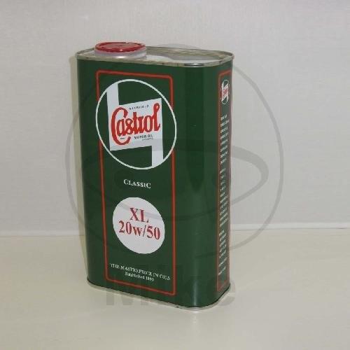 "Castrol Motoröl 4T ""Classic XL"" 20W50 mineralisch 1 Liter"