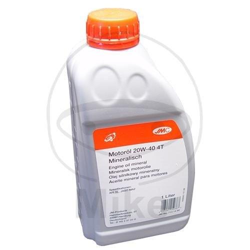 JMC Motoröl 4T 20W40 mineral 1 Liter