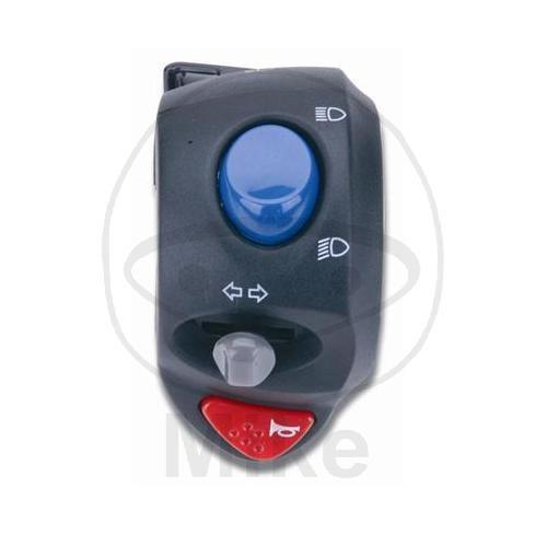 Universal Lenkerschalter Fernlichtschalter, Abblendlichtschalter, Blinker, Hupe, Lichthupe für 22mm