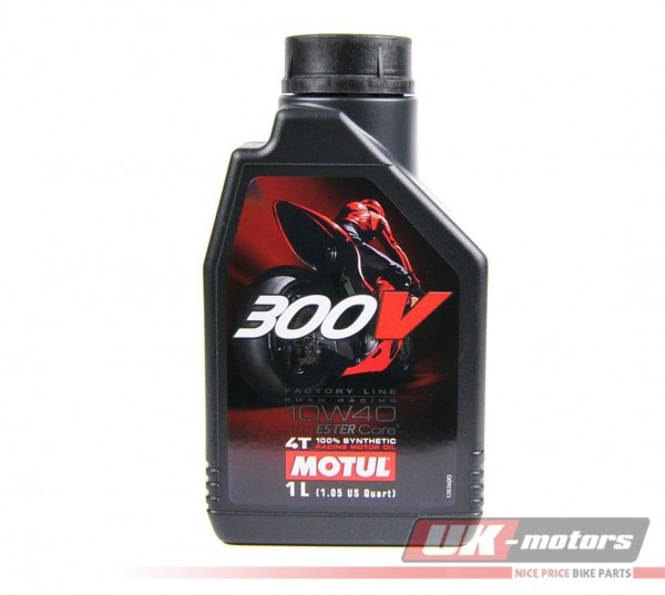 "MOTUL Motoröl 4T ""300V FL Road Racing""10W40 1 Liter"