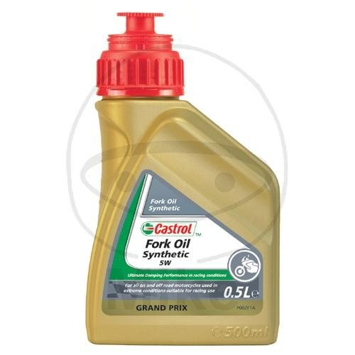 Castrol Gabelöl Fork Oil Synthetic 5W 0,5 Liter / vollsynthetisch